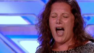 Amazing Sam Bailey Prison Officer - First Audition - Listen by Beyonce - The X Factor