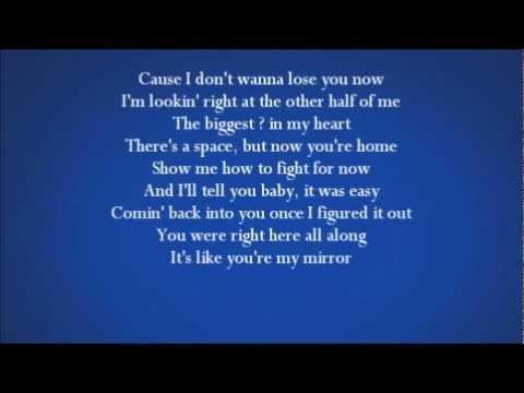 Justin Timberlake Mirrors Lyrics On Screen Music Playlist