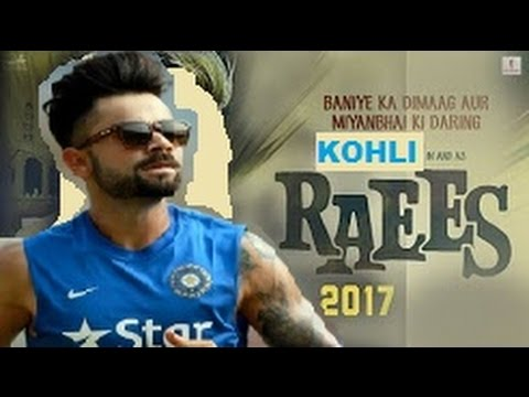 Virat Kohli In & As Raees | Trailer | Releasing 25 Jan thumbnail