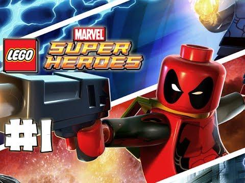 LEGO Marvel Superheroes - LEGO BRICK ADVENTURES - Part 1 - Monkey Taxi! (HD Gameplay Walkthrough)
