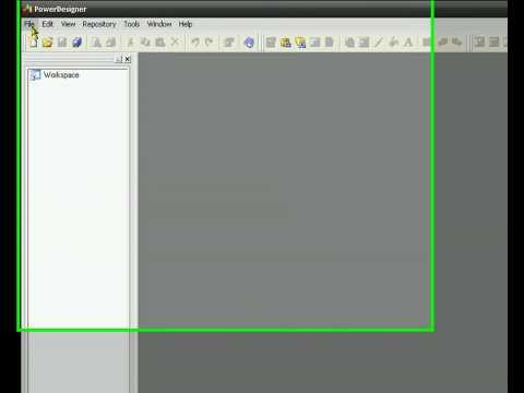 Tutorial Power Designer : como hacer un modelo grafico apartir de una BBDD externa