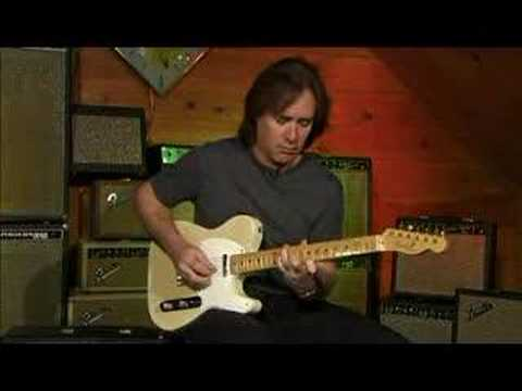 Carl Verheyen plays a 1956 Telecaster
