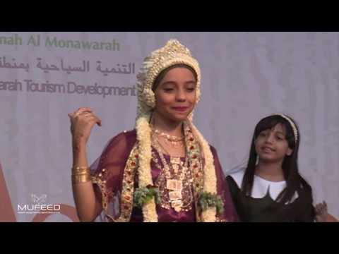 إستعراض شعبي || قناة اطفال ومواهب || مهرجان سلام || المدينة المنورة thumbnail