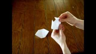 How To Make An Origami Cat (2-d)
