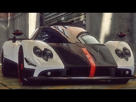 GTA 4 Pagani Zonda Cinque !!  ENB series Extreme Graphics  [ Car mods + RealizmIV + VisualIV ]