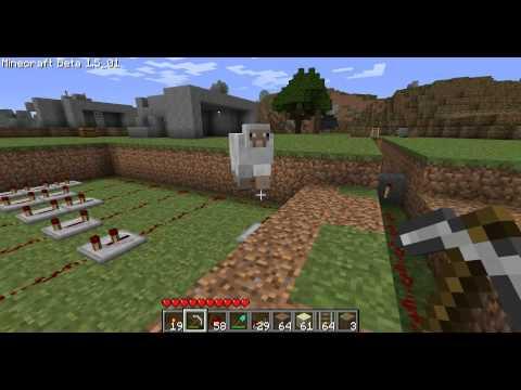 Minecraft - Les MDM : pistons #10 Les vagues de sables