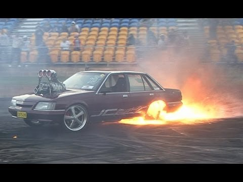 American Burnouts Versus Australian Burnouts PART 4