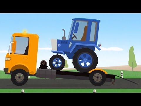 Мультфильм про эвакуатор и ремонт автомобилей. Доктор Машинкова