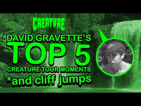 David Gravette's Top 5 Creature Tour Moments *and cliff jumps