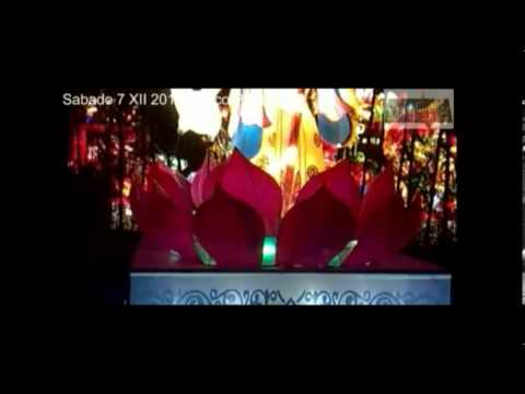 Villa Iluminada Faroles Chinos 7 Xii 2013 Youtube