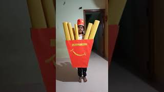French fries fancy dress by ziya