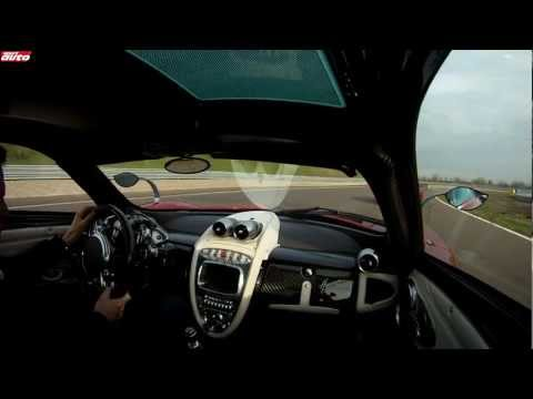Pagani Huayra vs Ferrari F12 Track Test sport auto First comparison
