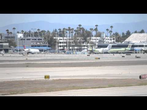 LGB Ramp Overview (Inc. Saudi Private A320-200CJ [HZ-A2])