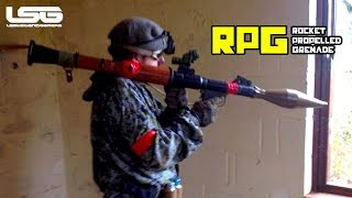Airsoft  - RPG Action, Room Clearing