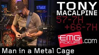"Tony MacAlpine - EMG pickupsが""Man in a Metal Cage""のスタジオ・ライブ映像を公開 thm Music info Clip"