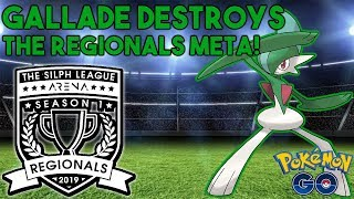 Gallade Destroys The Regionals Meta! - Silph Arena Regionals - Pokemon GO PvP