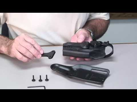 Kit Add-ons and Adjustment Instructions for the Model 6285 Holster