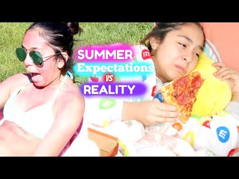 Summer Expectations vs Reality |B2cutecupcakes