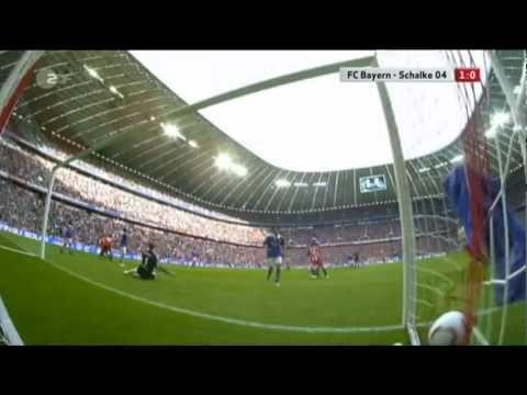 FC Bayern Munchen vs FC Schalke 4 1   Alle Tore   Highlights   30/ 04/ 2011