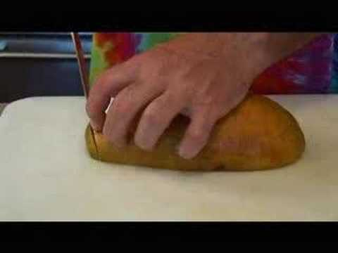 Hippy Gourmet makes Mango-Papaya Salsa! Video