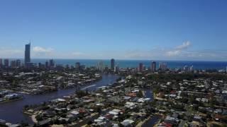 Gold Coast broad beach waters