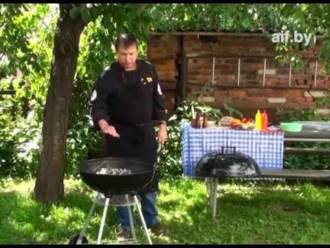 Как приготовить барбекю - видео