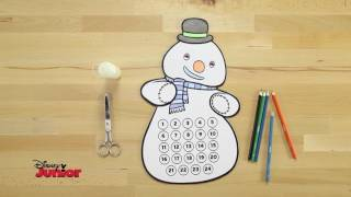 Disney Junior - Tutorial Calendario dell