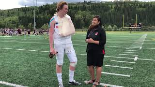 FCC2018 Day 3: Post-game interview with Nova Scotia's Allan Young