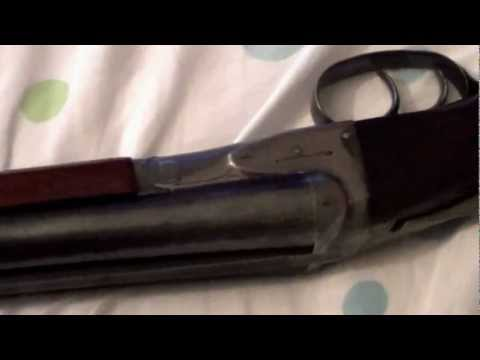 16 gauge Double Barrel Shotgun A H Fox Sterlingworth