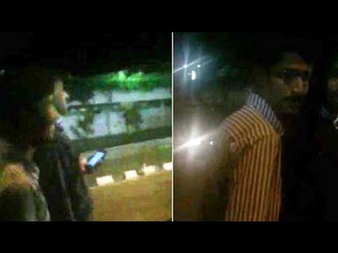 Bangalore women shouting for help caught on mobile phone