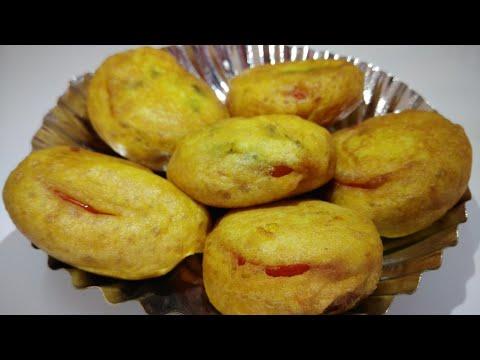 टोमॅटो भजी रेसिपी / Tomato bhaji recipe