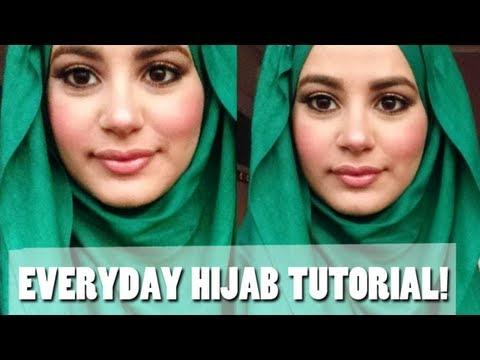 media hijab tutorial everyday simple hijab