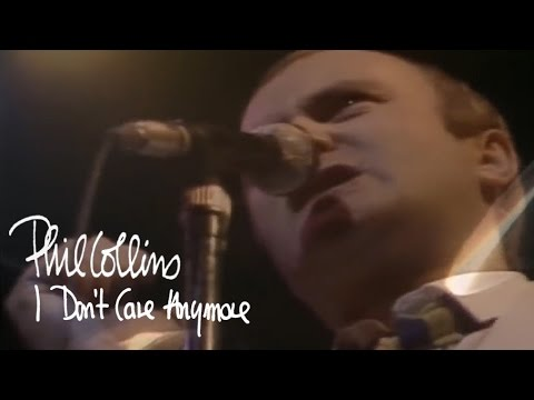 Phil Collins - I Dont Care Anymore (official Music Video) video