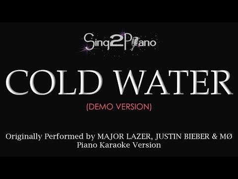 Cold Water (Piano karaoke demo) Major Lazer, Justin Bieber, MØ