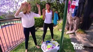 Turning everyday chores into exercise with Kellie Sloane