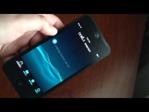 iPod Touch 5G iOS 8 beta 2 Internet Speed Test