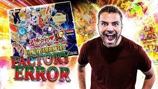 *NEW* YuGiOh FACTORY ERROR Hidden Summoners Box Opening & Review! GODLY!!