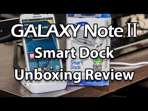 Samsung Galaxy Note 2 Smart Dock Review (HDMI TV OUT + 3 USB OTG Port + 3.5mm Audio Out)