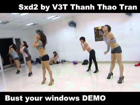 "Saigonbellydance Sexydance ""Bust your windows"" by V3T Thanh Thao Tran VDANCE"