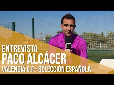 Entrevista Paco Alcácer (Valencia C.F - Selección Española)