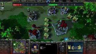 TH000(HU) vs Focus(ORC) - WarCraft 3 Frozen Throne - RN3558
