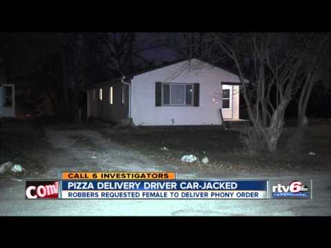 Indianapolis pizza delivery driver ambushed after phony order