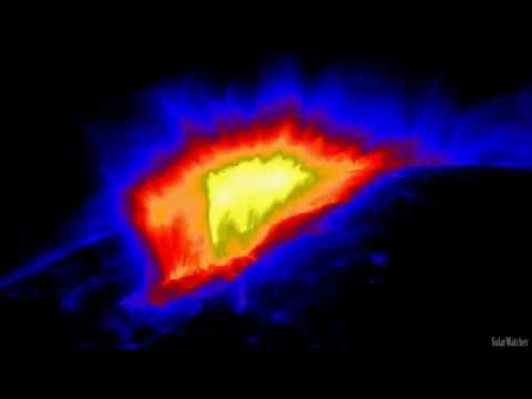 M5.0 Solar Flare & Huge CME May 22, 2013