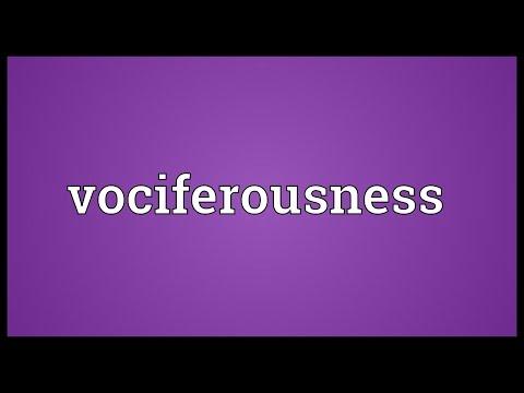 Header of vociferousness