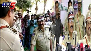 DGP Mahender Reddy Meets With Higher Officials In Nalgonda