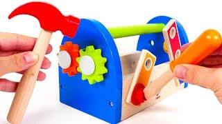 Learn Colors with Tool Box For Kids | Learn with Yippee Toys