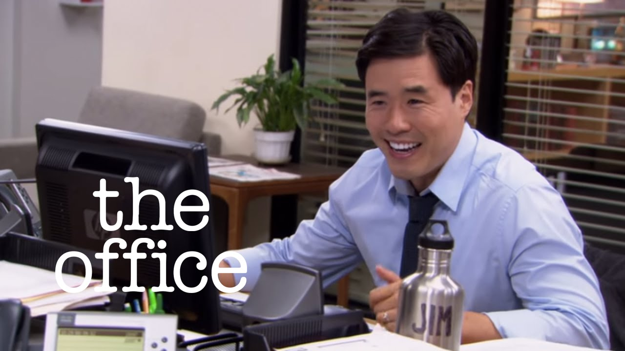 Asian jim jim vs dwight the office us youtube - How many episodes of the office ...