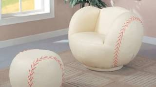baseball chair for kids |  rocking chair for nursery