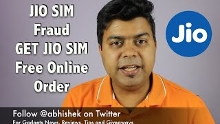 Exposed JIO SIM Fraud, Buy JIO SIM Online For Free, Be Aware | Gadgets To Use