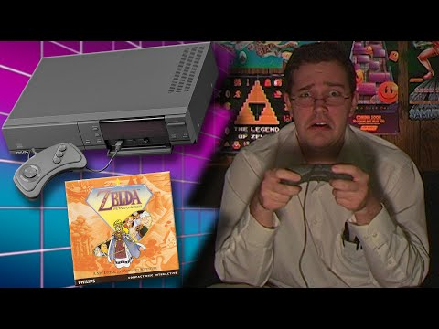 CD-I (Part 2) Zelda Wand of Gamelon - Angry Video Game Nerd - Episode 60